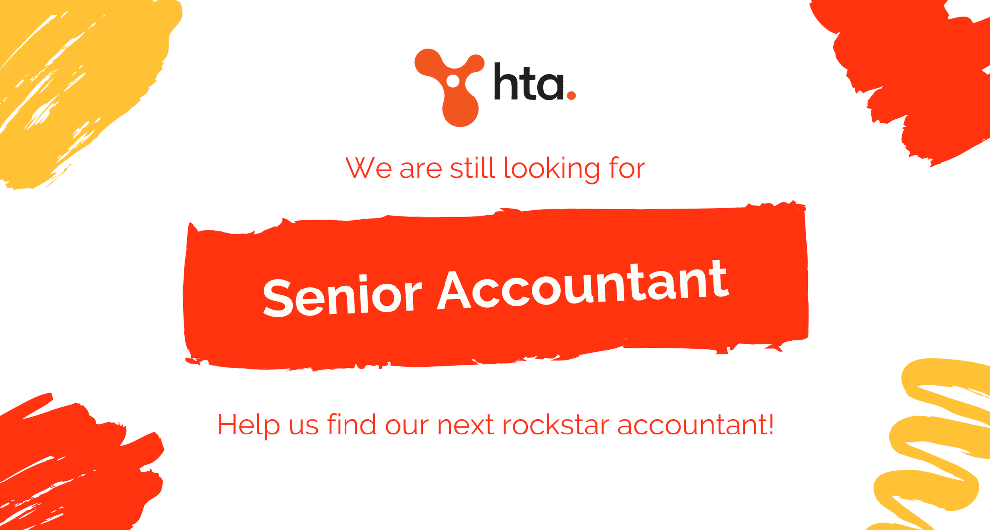 We found 1 and still looking for another ROCKSTAR ACCOUNTANT!