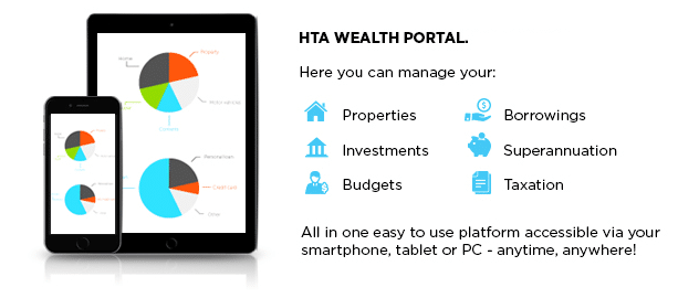 What is the HTA Wealth Portal?