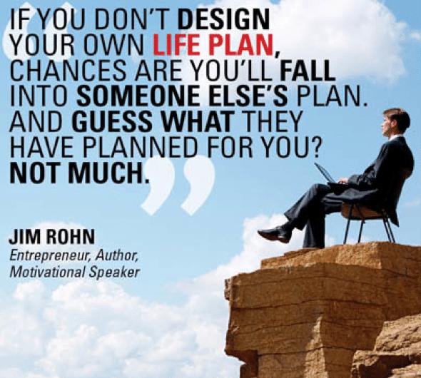 Jim Rohn quote Lifeplan